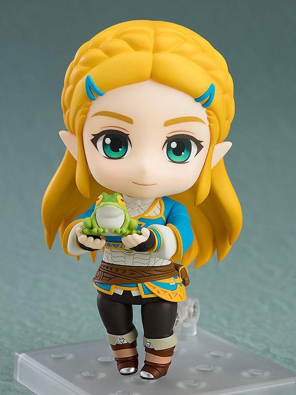 The Legend of Zelda Breath of the Wild Nendoroid Action Figure Zelda