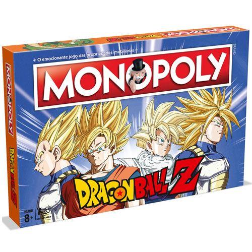 Monopoly Dragon Ball Z (Totalmente em Português)
