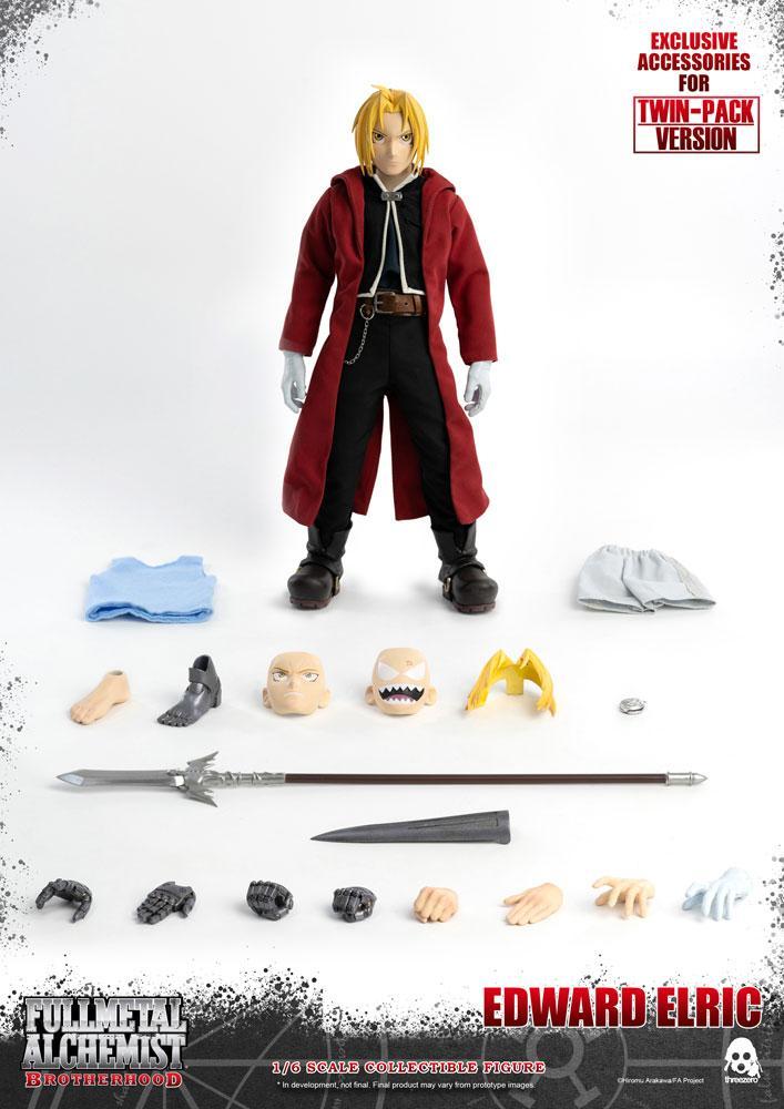Fullmetal Alchemist: Brotherhood Action Figure 2-Pack 1/6 Edward & Alphonse