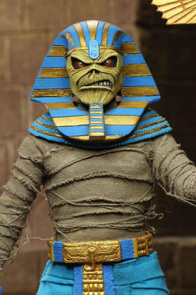 Iron Maiden Retro Action Figure Pharaoh Eddie 20 cm