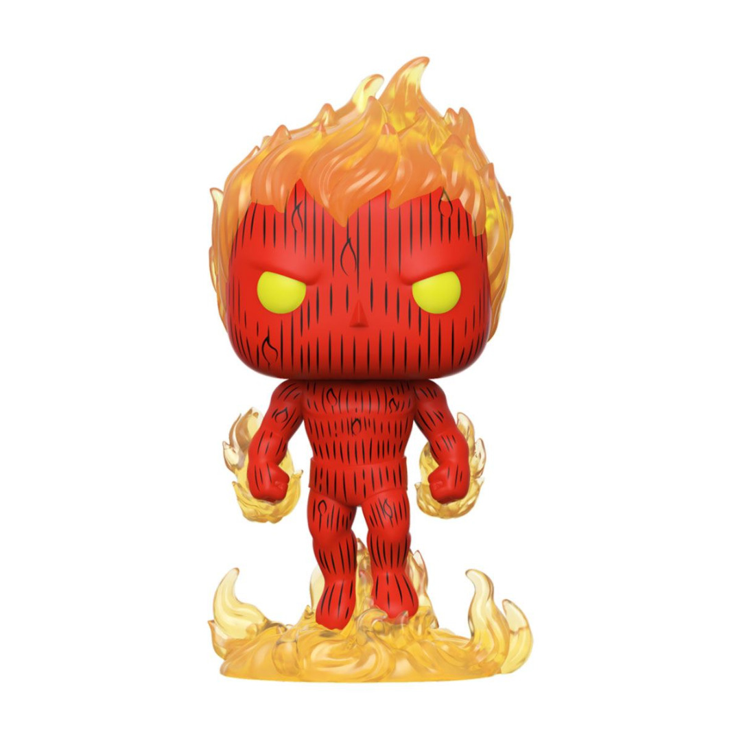 Fantastic Four POP! Marvel Vinyl Figure Human Torch 10 cm