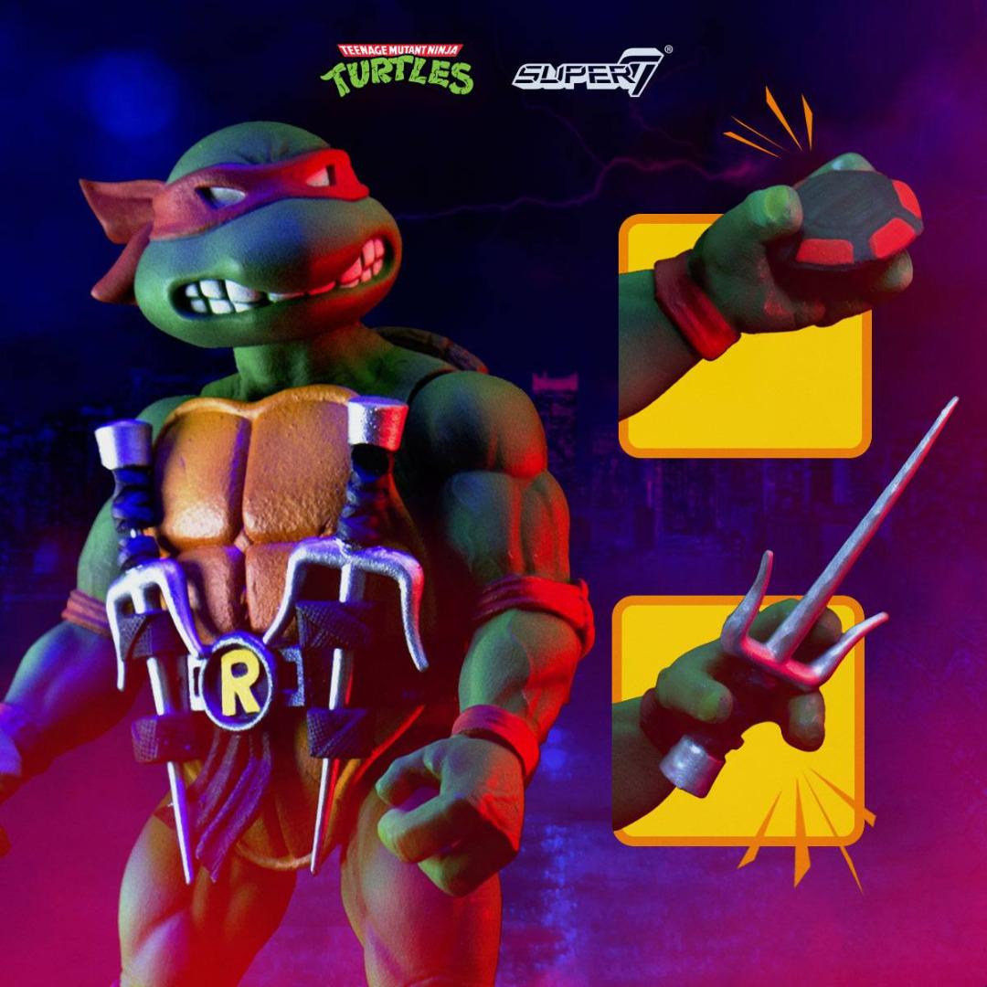 Teenage Mutant Ninja Turtles Ultimates Action Figure Raphael 18 cm