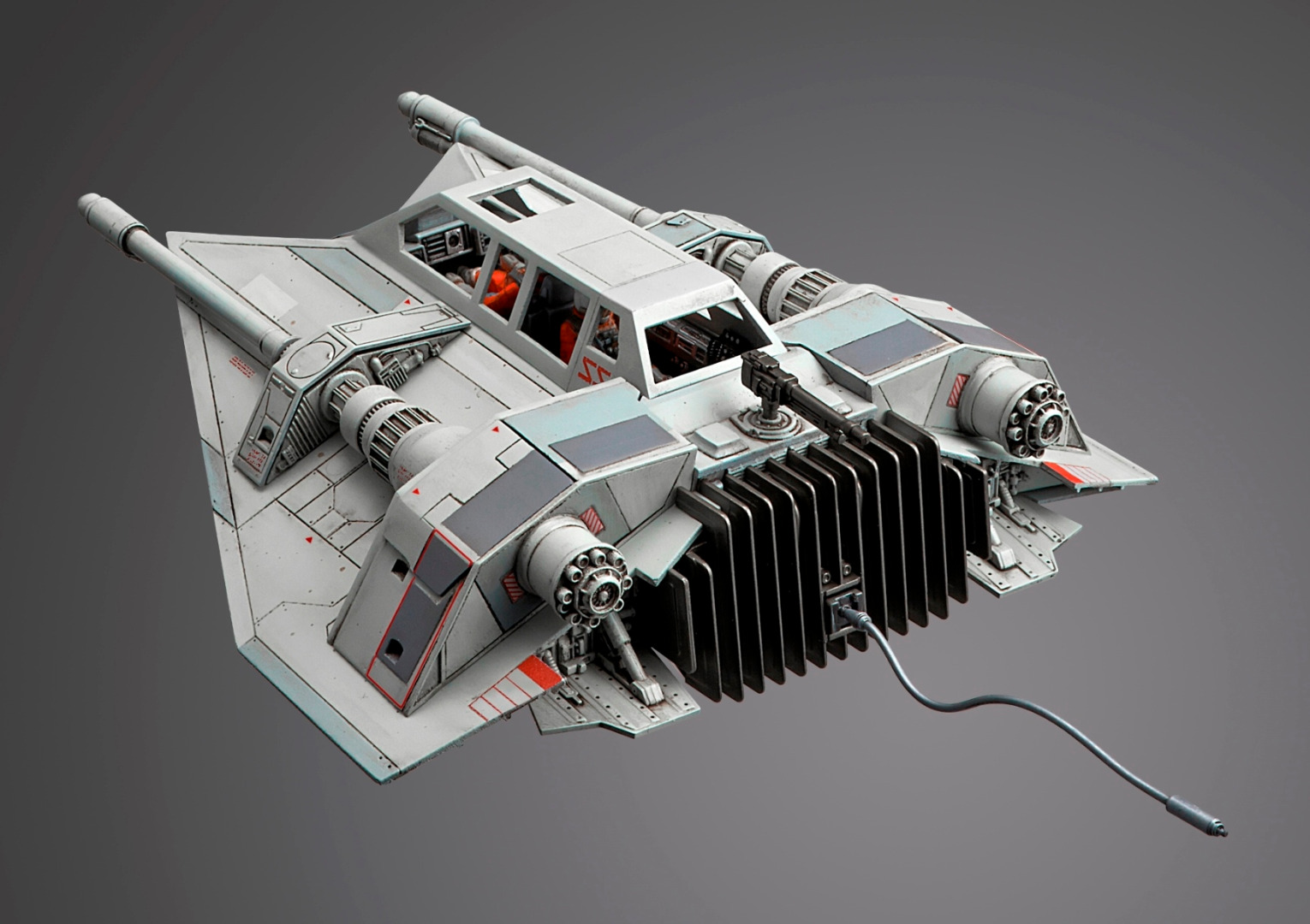 Star Wars: Snowspeeder - 1:48 Scale Model Kit