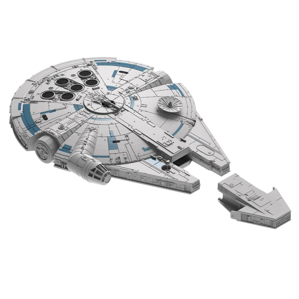 Star Wars Build & Play Kit with Sound & Light Up 1/164 Millenniun Falcon