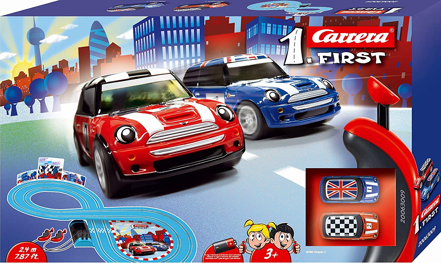 Pista/Circuito Carrera First MINI Cooper 2.40 Metros