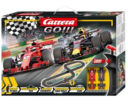 Pista/Circuito Carrera GO Ferrari Race to Win Set 4.3 Metros