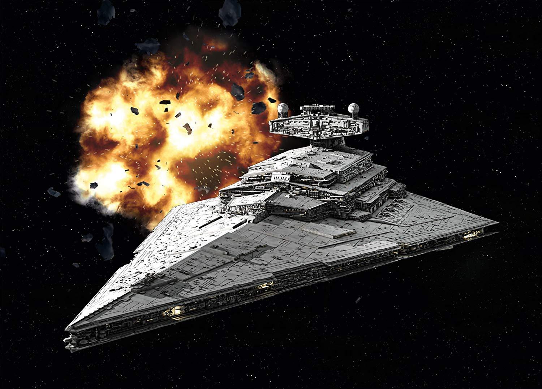 Construção REVELL Model Set Imperial Star Destroyer 1:12300