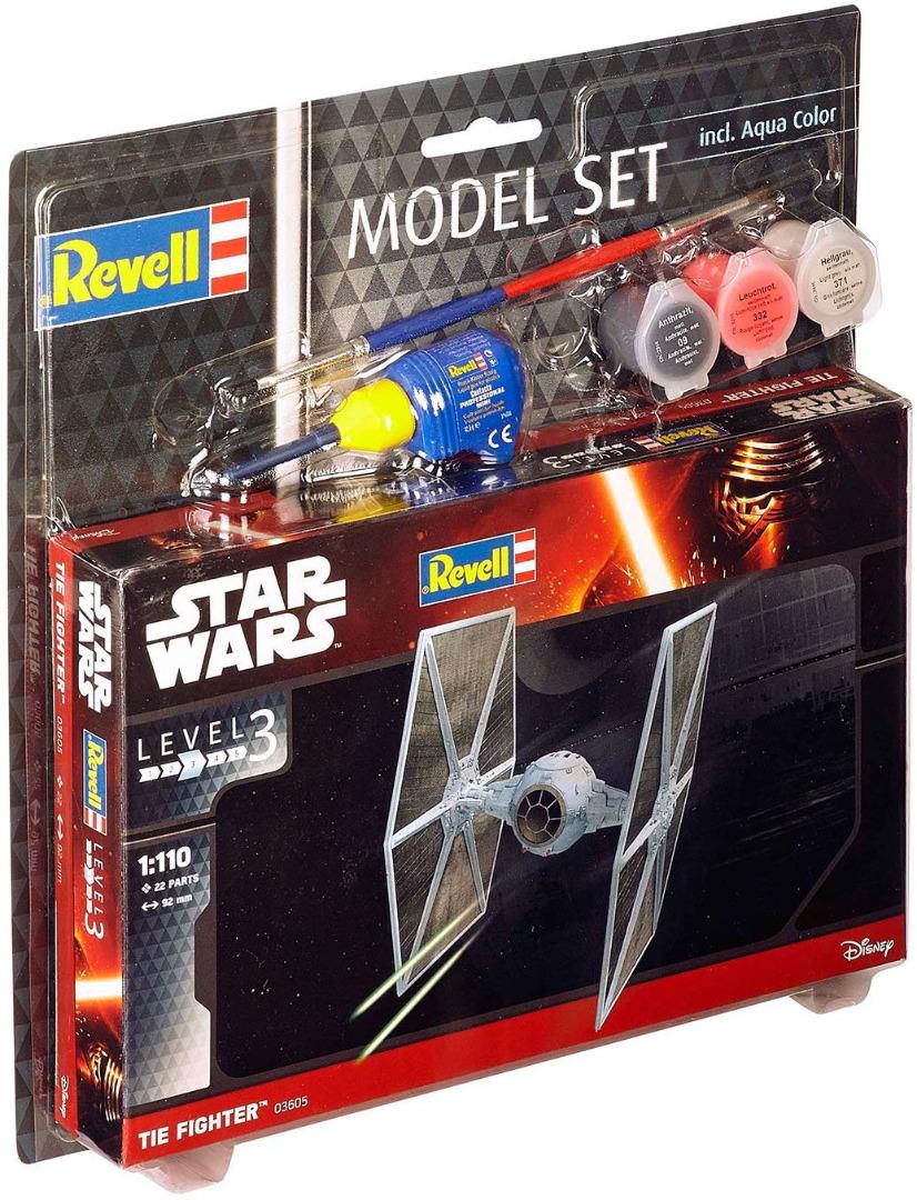 Construção REVELL Model Set Tie Fighter 1:110