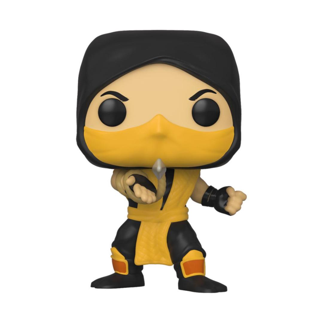 Mortal Kombat POP! Games Vinyl Figure Scorpion 10 cm