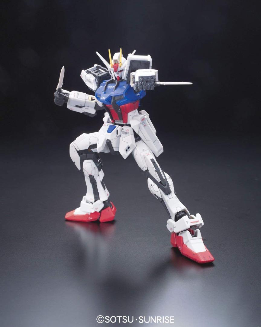 Real Grade Gundam Seed: RG - Aile Strike Gundam - 1:144 Model Kit