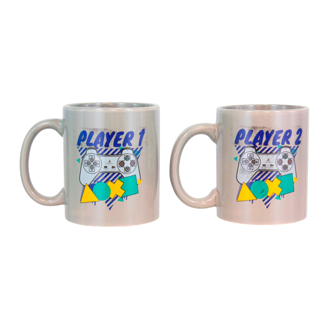 Playstation: Player One and Player Two Mug Set