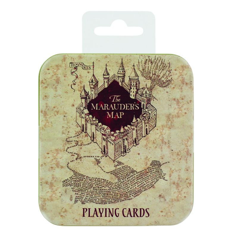 Cartas/Playing Cards Harry Potter: Marauder's Map