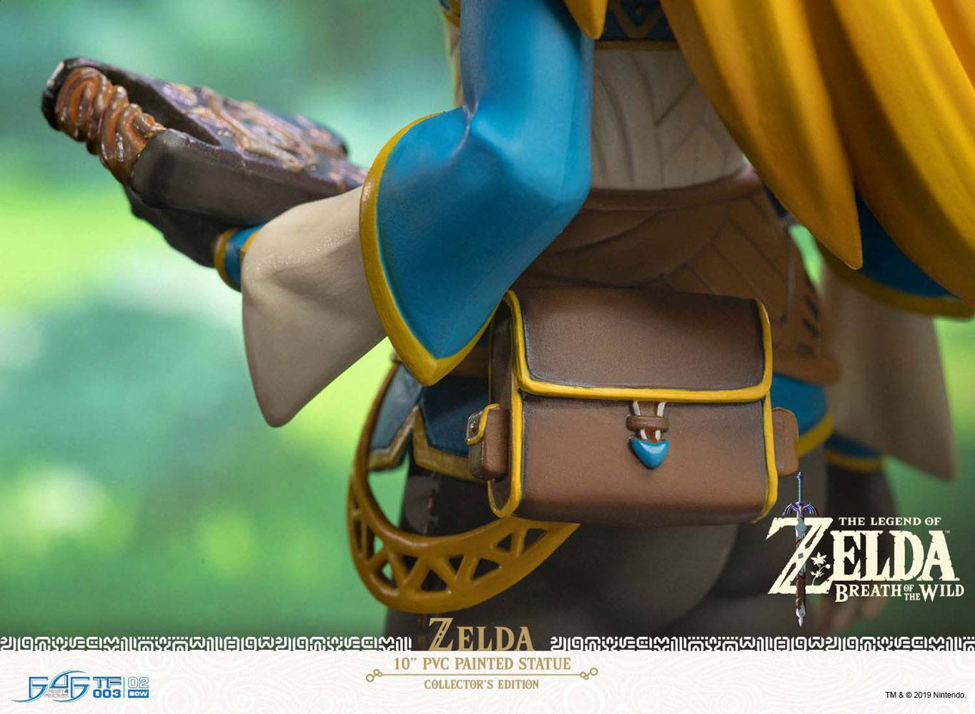 The Legend of Zelda Breath of the Wild PVC Statue Zelda Collector's Edition