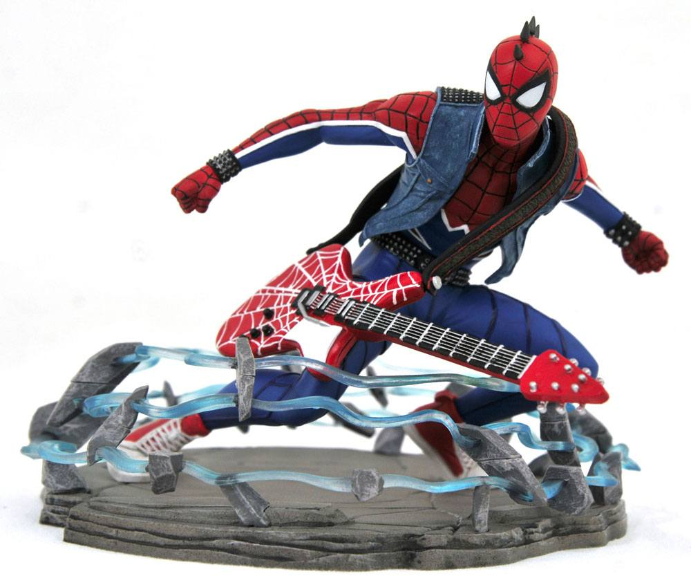 Spider-Man 2018 Marvel Video Game Gallery PVC Statue Spider-Punk Exclusive
