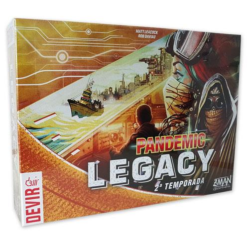Pandemic Legacy 2 Yellow (Em Português)
