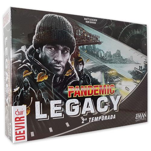 Pandemic Legacy 2 Black (Em Português)