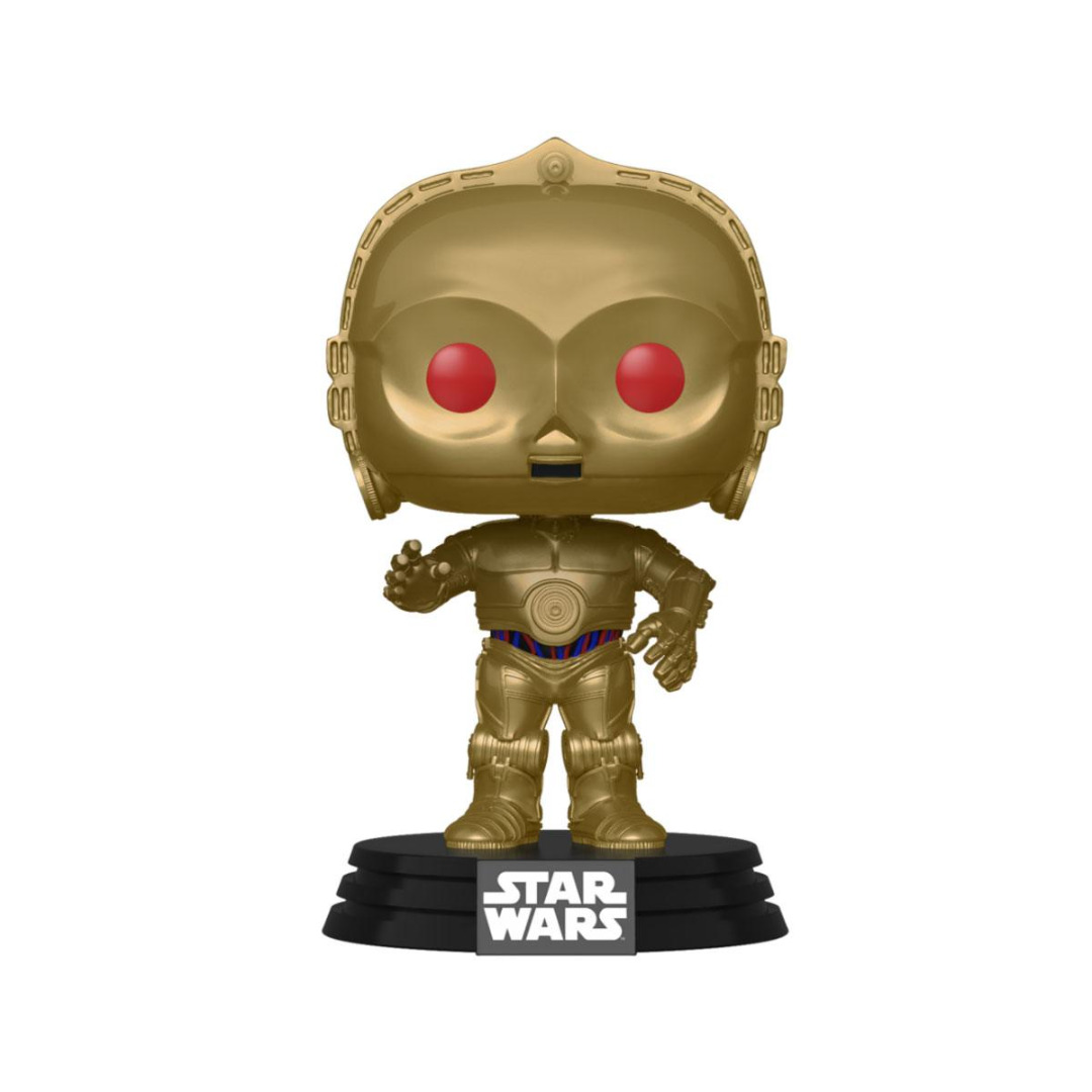 Star Wars Episode IX POP! Movies Vinyl Figure C-3PO (Red Eyes) 10 cm