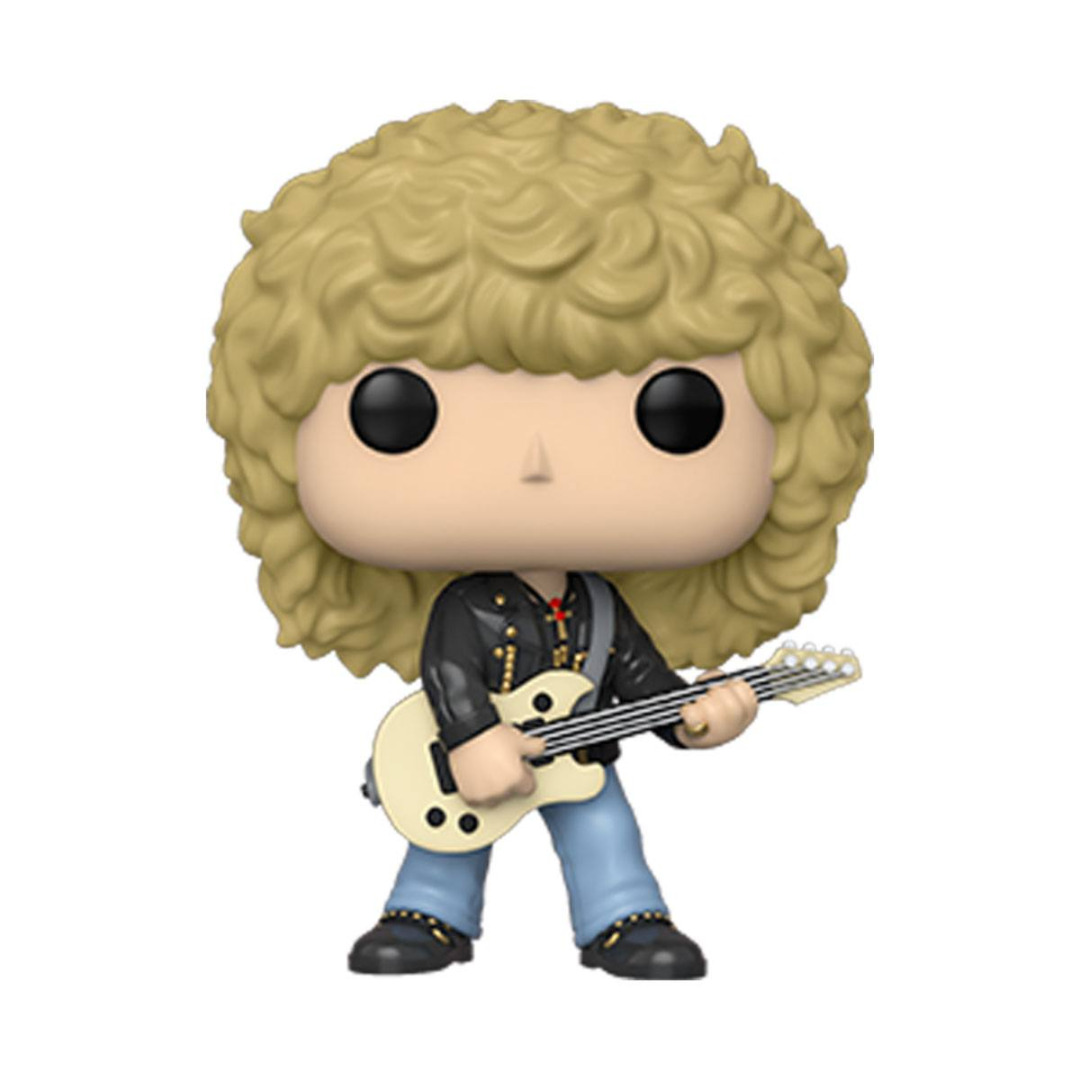 Def Leppard POP! Rocks Vinyl Figure Rick Savage 10 cm