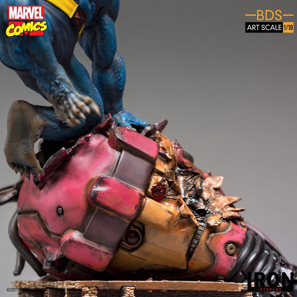 Marvel Comics BDS Art Scale Statue 1/10 Beast 27 cm