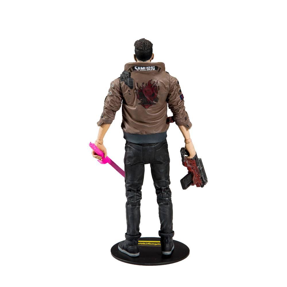 Cyberpunk 2077 Action Figure Male V 18 cm