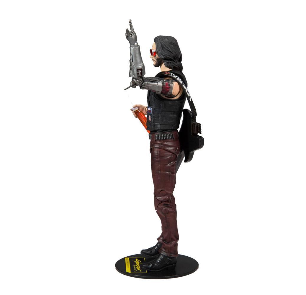 Cyberpunk 2077 Action Figure Johnny Silverhand 18 cm