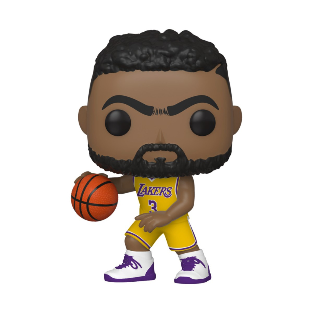 Pop! NBA: The Los Angeles Lakers - Anthony Davis Vinyl Figure 10 cm
