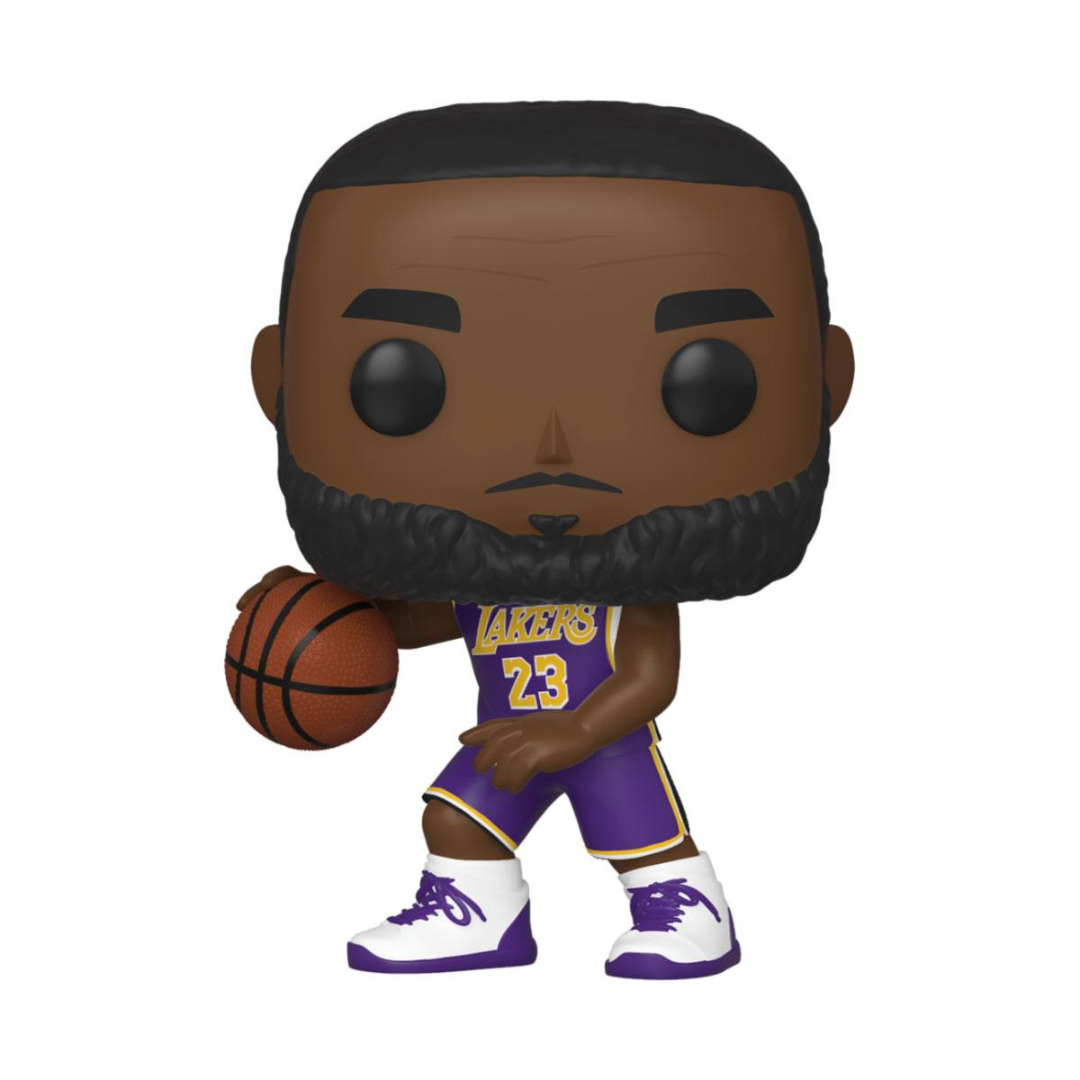 Pop! NBA: The Los Angeles Lakers - Lebron James Vinyl Figure 10 cm