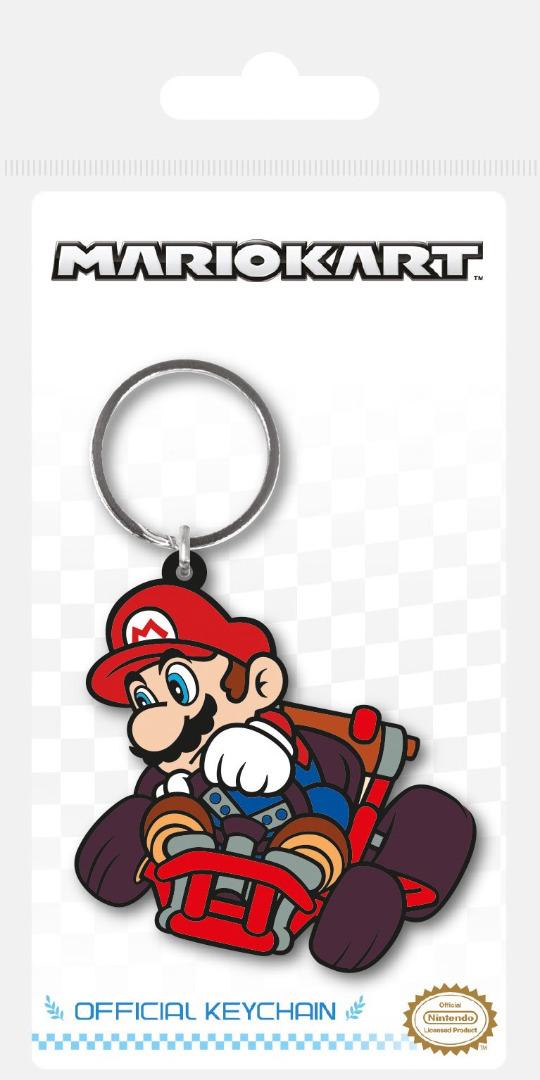 Porta-Chaves/Keychain Mario Kart Rubber Drift 6 cm