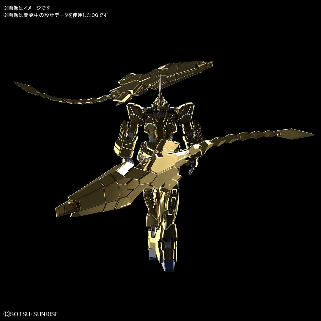Gundam: HGUC Unicorn Gundam 03 Phenex Gold Coating - 1:144 Model Kit