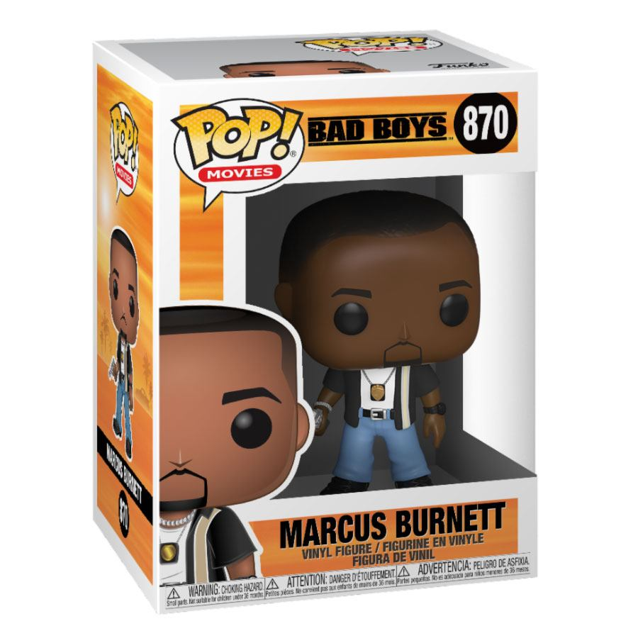 Bad Boys POP! Movies Vinyl Figure Marcus Burnett 10 cm