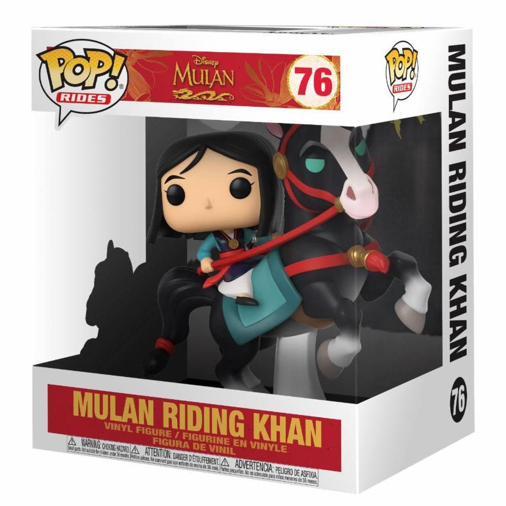 Mulan POP! Rides Vinyl Figure Mulan on Khan 18 cm