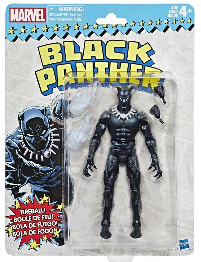 Marvel Legends Super Heroes Vintage Action Figure Black Panther 15 cm