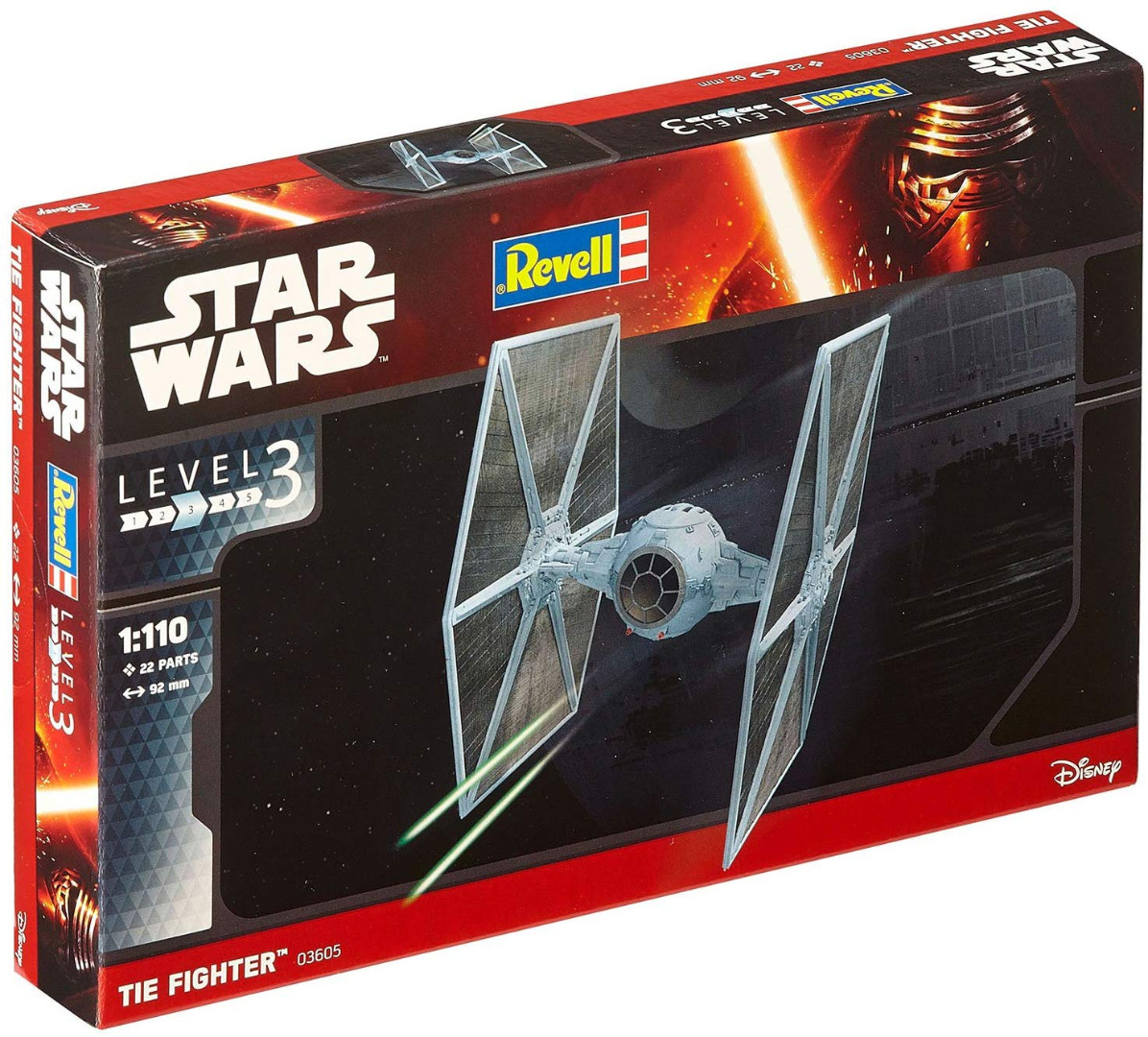 Revell Model Kit Star Wars Tie Fighter Scale 1:110