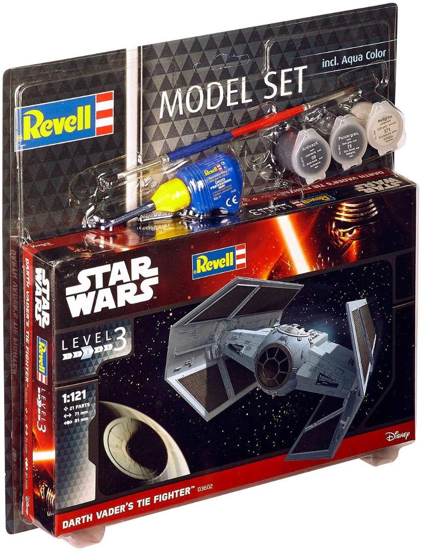 Revell Model Set Star Wars Darth Vader`s Tie Fighter Scale 1:121