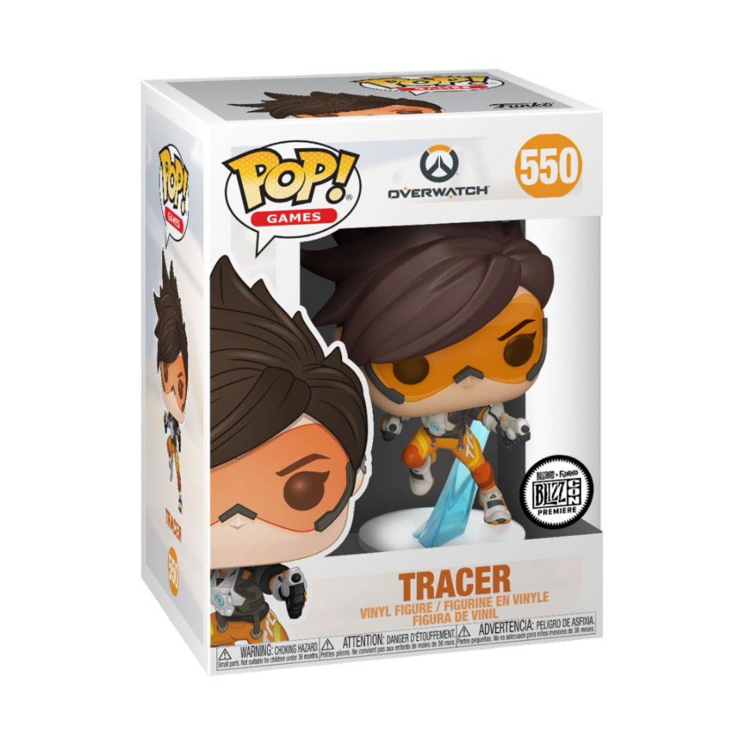 Overwatch POP! Games Vinyl Figure Tracer 10 cm