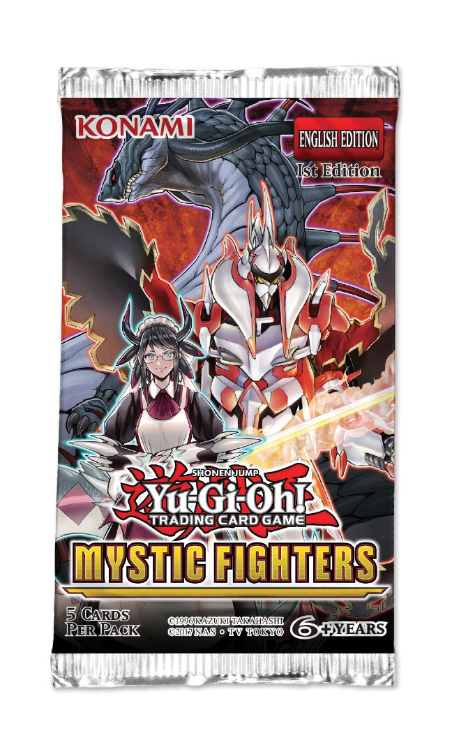 Yu-Gi-Oh! Mystic Fighters Booster English Version