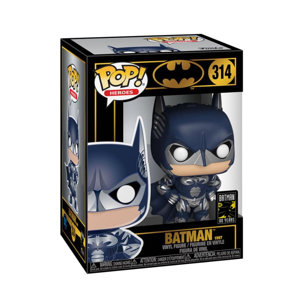 Batman 80th POP! Heroes Vinyl Figure Batman (1997) 10 cm