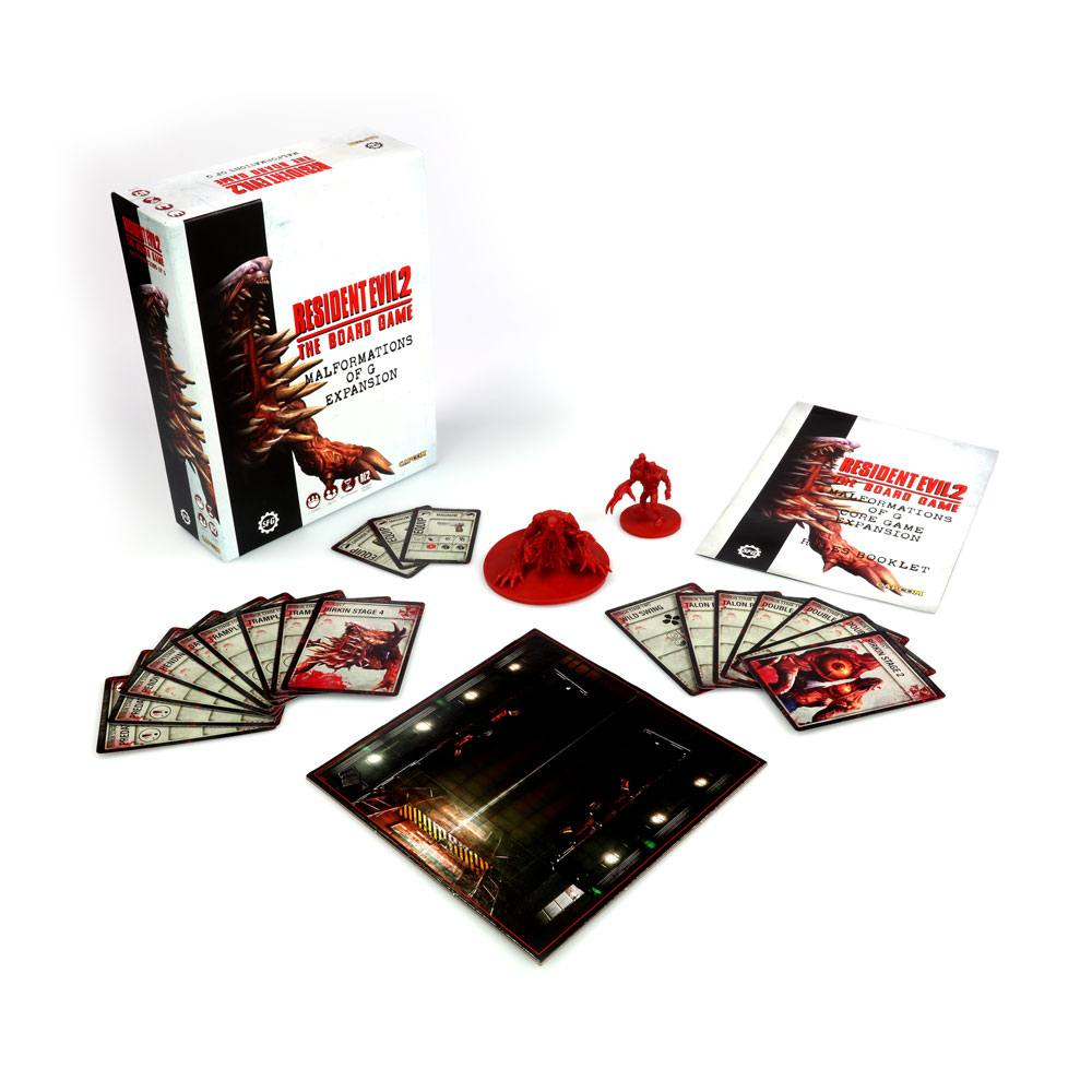 Resident Evil 2 The Board Game Expansion Malformations of G English Version