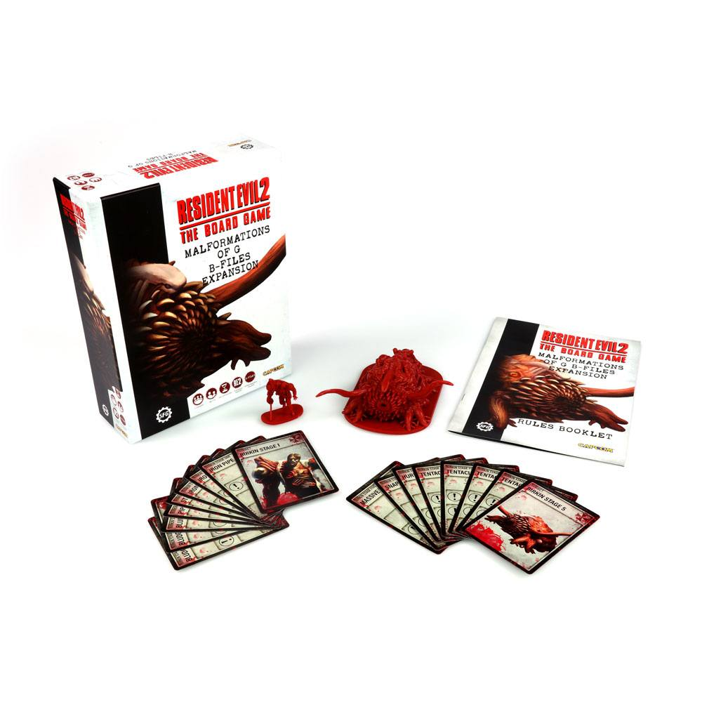 Resident Evil 2 The Board Game Expansion Malformations of G: B-Files Eng.