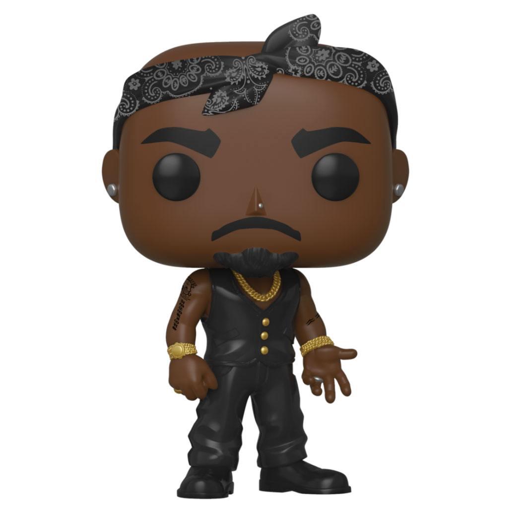 Tupac POP! Rocks Vinyl Figure Tupac 10 cm