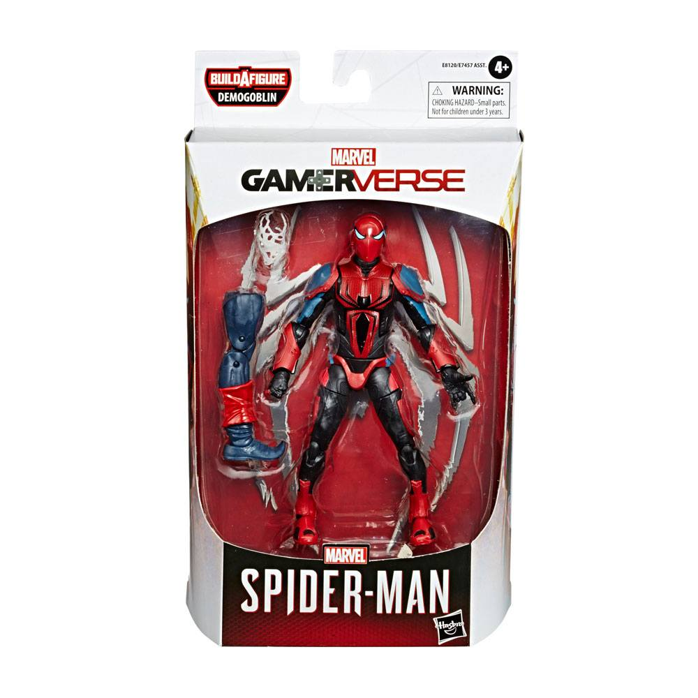 Marvel Legends Spider-man 2020 AF Spider-Man SpiderArmor Mark III 15 cm