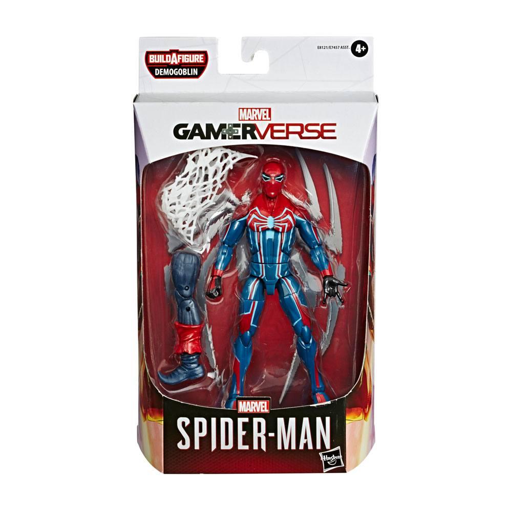 Marvel Legends Spider-man 2020 AF Spider-Man Velocity Suit 15 cm