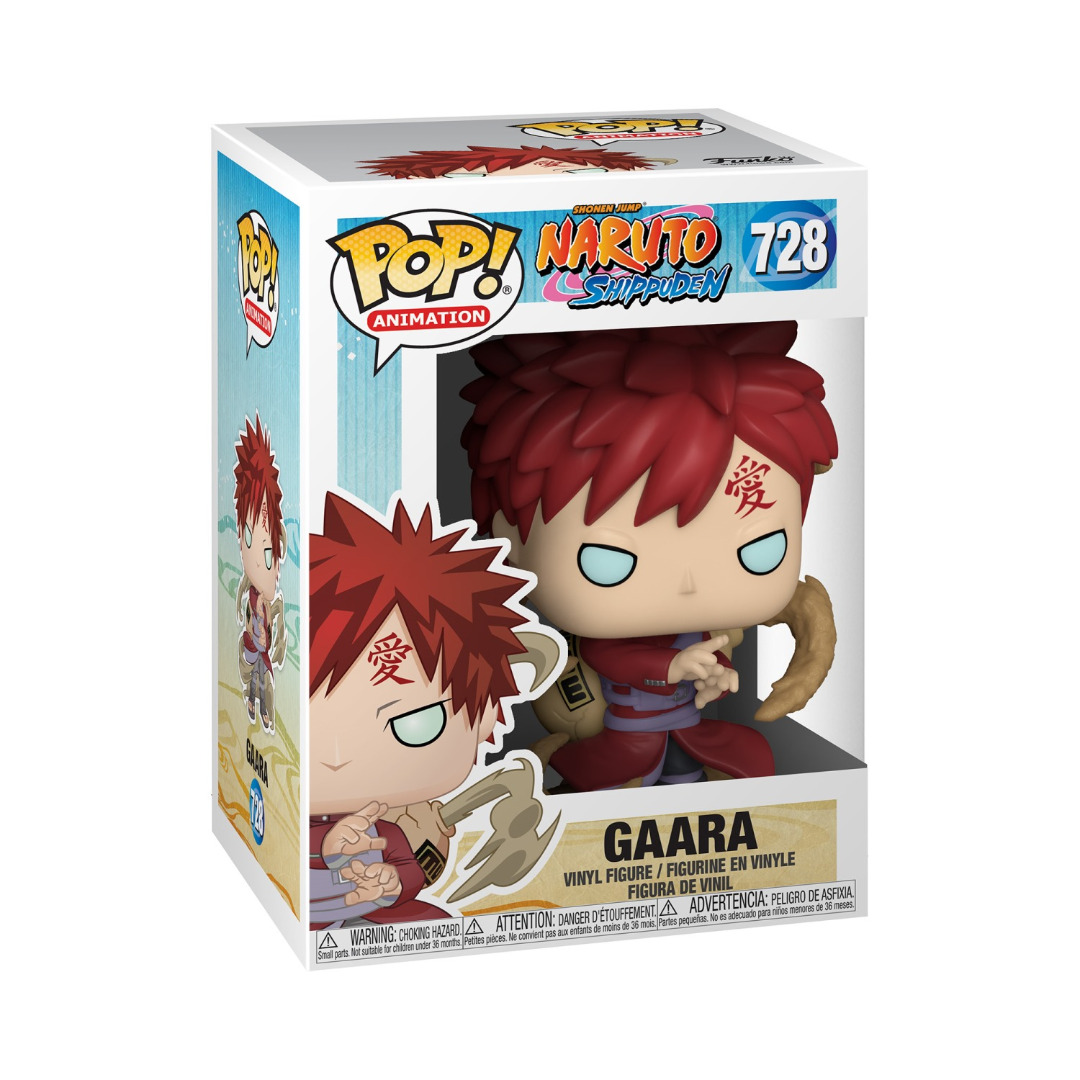 Pop! Anime: Naruto - Gaara Vinyl Figure 10 cm