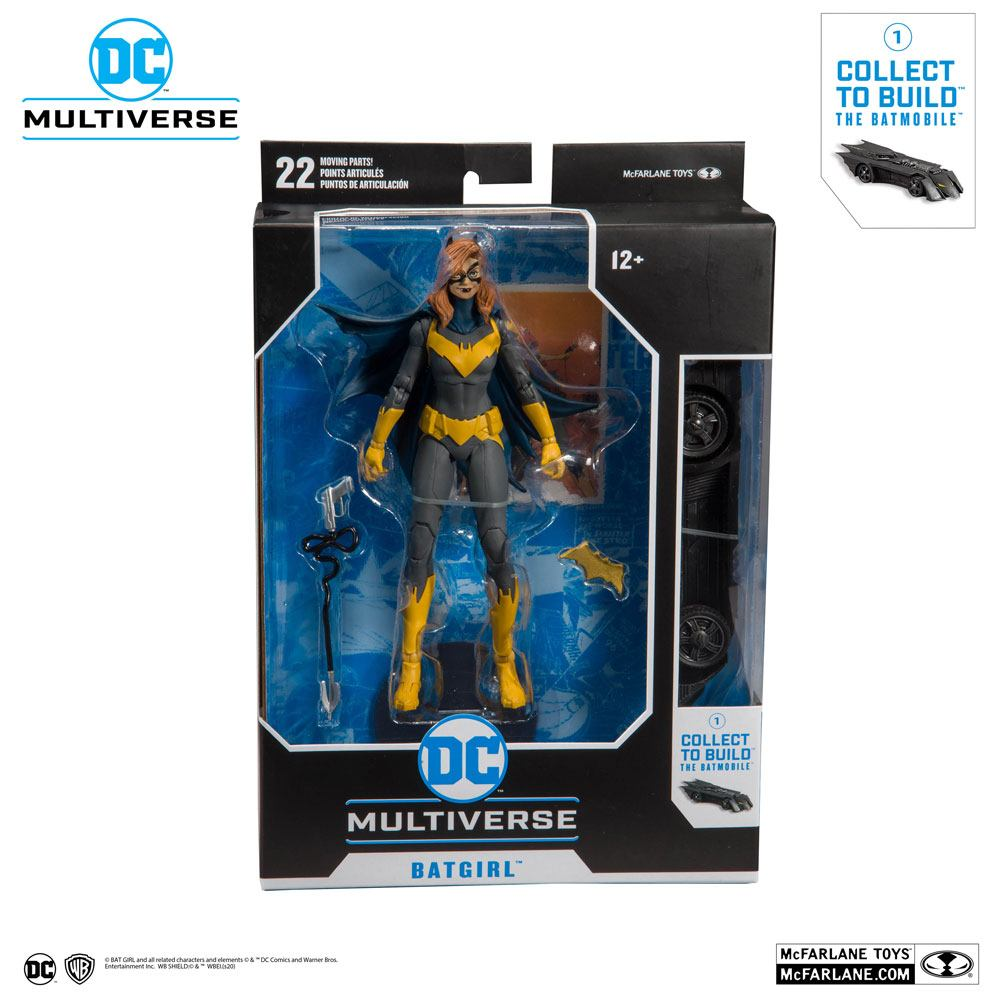DC Rebirth Build A Action Figure Batgirl (Art of the Crime) 18 cm