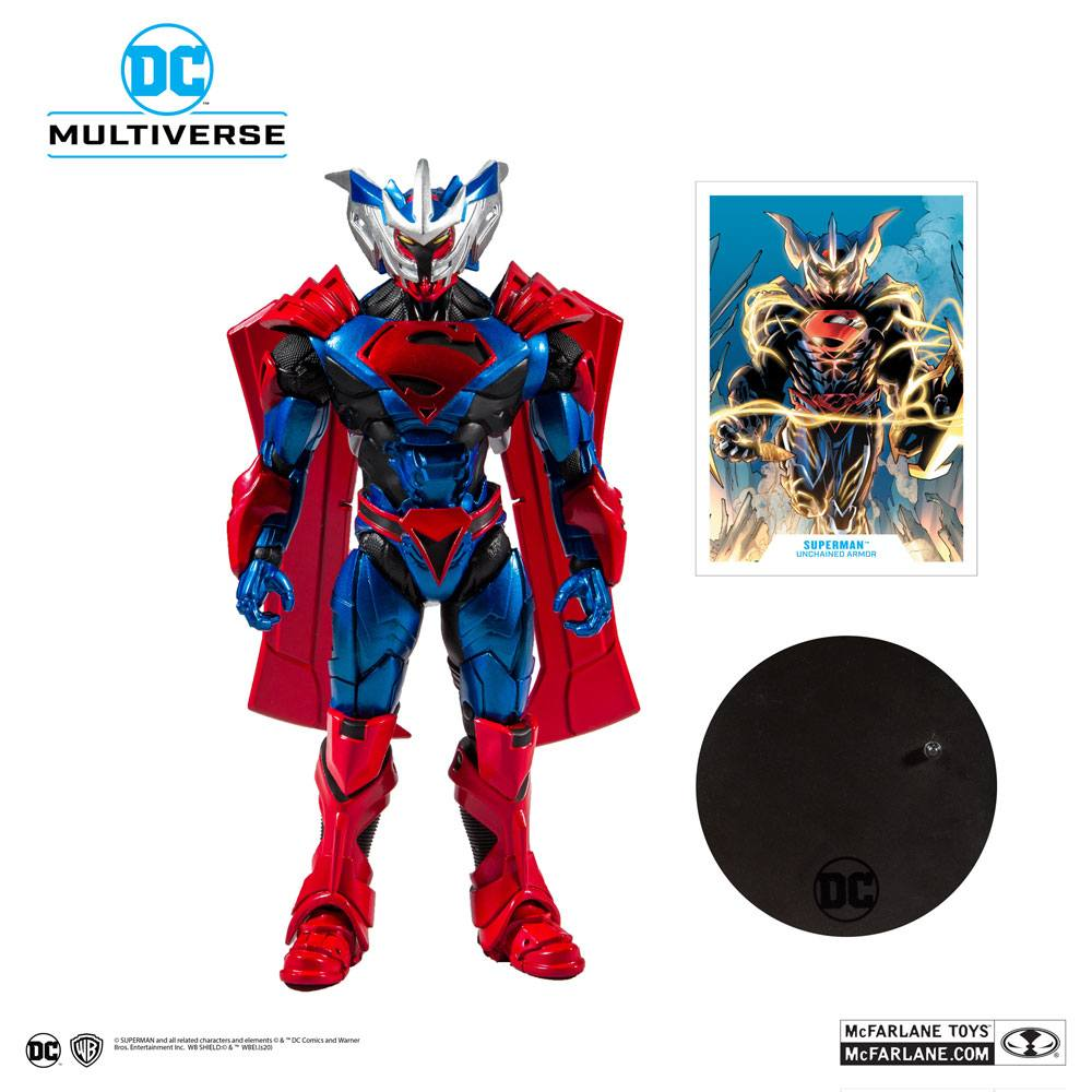 Superman Unchained Action Figure Superman (Unchained Armor) 18 cm