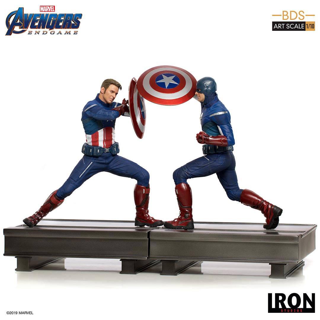 Avengers: Endgame BDS Art Scale Statue 1/10 Captain America 21 cm