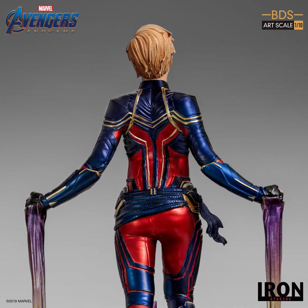 Avengers: Endgame BDS Art Scale Statue 1/10 Captain Marvel 26 cm