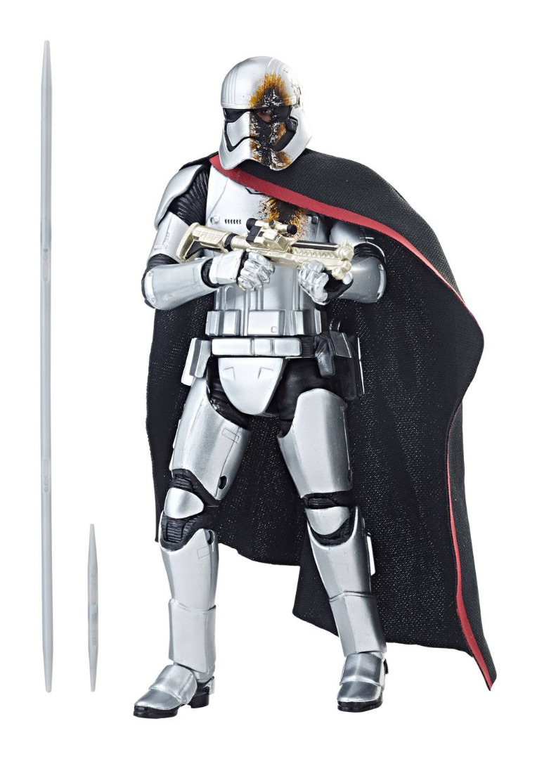 Star Wars Epis.VIII Black Series AF 2019 Captain Phasma Quicksilver Baton