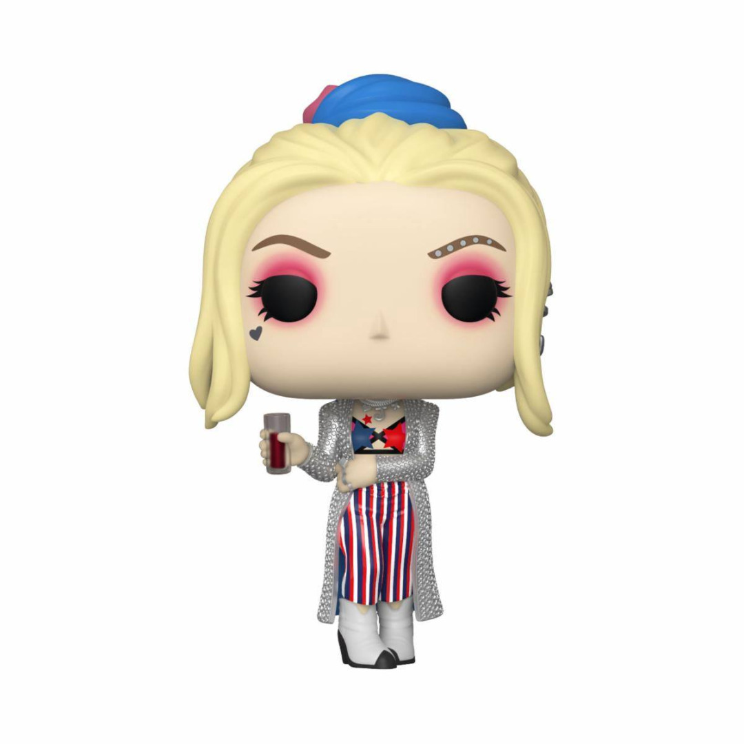 Birds of Prey POP! Heroes Vinyl Figure Harley Quinn (Black Mask Club) 10 cm