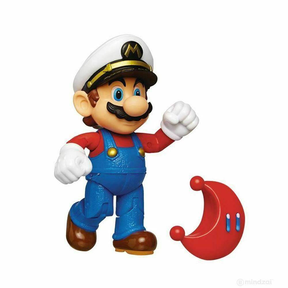 World of Nintendo Action Figure Wave 15 Captain Mario with Moon 10 cm